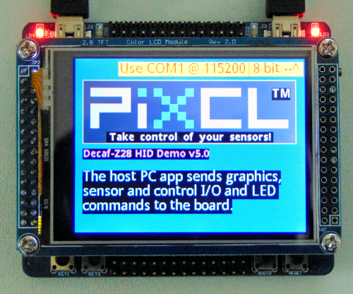 Decaf-Z28 with LCD